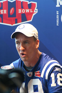 Credit: By Ian Ransley (Flickr: Peyton Manning, Media Day) [CC BY 2.0 (http://creativecommons.org/licenses/by/2.0)], via Wikimedia Commons